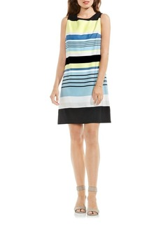 Vince Camuto Striped Harmony Shift Dress