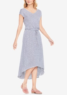 Two By Vince Camuto Striped High-Low Dress