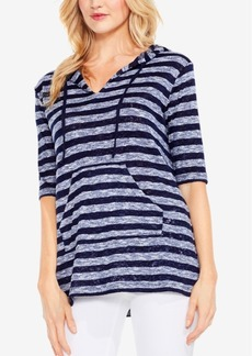 Two By Vince Camuto Striped Hoodie