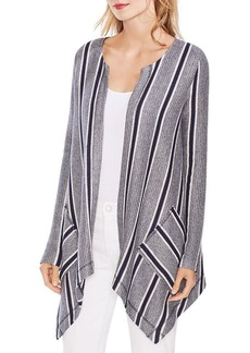 VINCE CAMUTO Striped Open Cardigan