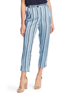 Vince Camuto Stripey Interludes Slim Crop Pants