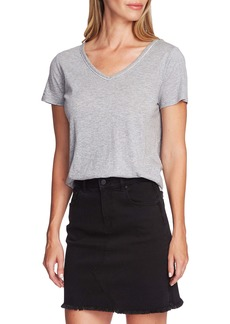 Vince Camuto Stud Detail Cotton Blend Tee