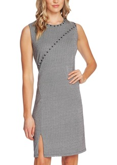 Vince Camuto Studded Herringbone Dress