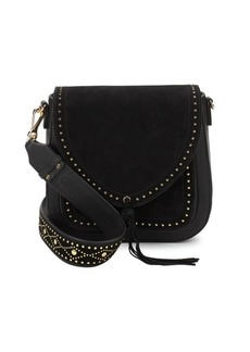 Vince Camuto Studded Leather Shoulder Bag
