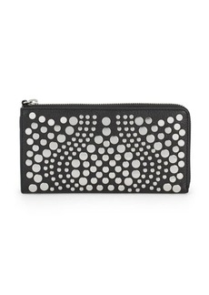 Vince Camuto Studded Leather Wallet