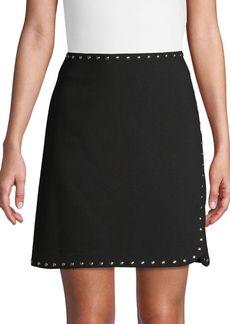Vince Camuto Studded Mini Skirt