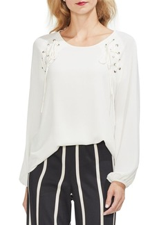 Vince Camuto Sunrise Bay Woven Lace Top