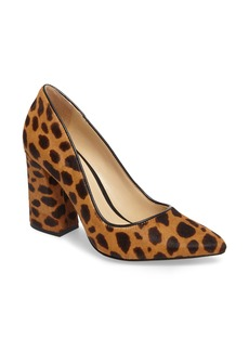 Vince Camuto Talise Genuine Calf Hair Pointy Toe Pump (Women)