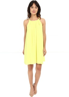 Vince Camuto Tank Dress w/ Front Pleats
