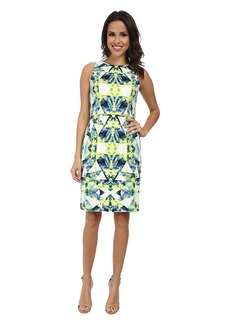 Vince Camuto Tank Midi Sheath with Overlock Detail