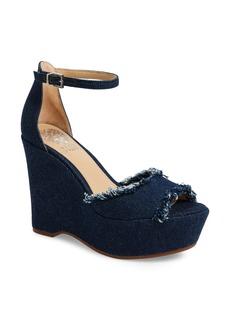 Vince Camuto Tatchen Ankle Strap Platform Sandal (Women)