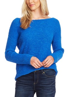 Vince Camuto Textured Boat-Neck Sweater