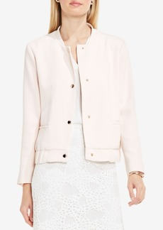 Vince Camuto Textured Bomber Jacket