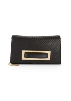 Vince Camuto Textured Leather Convertible Clutch