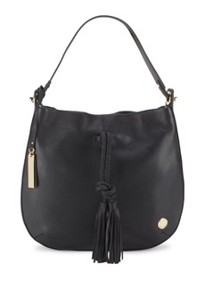 Vince Camuto Textured Leather Hobo