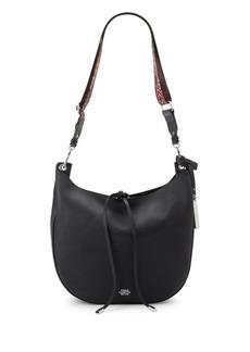 Vince Camuto Textured Leather Hobo Bag