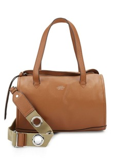 Vince Camuto Textured Leather Satchel