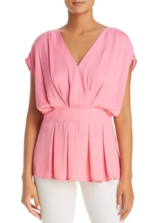 VINCE CAMUTO Textured Pleat Blouse - 100% Exclusive