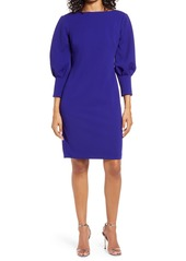 Vince Camuto Textured Scuba Bodycon Dress