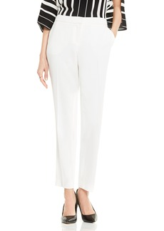 Vince Camuto Textured Skinny Ankle Pants