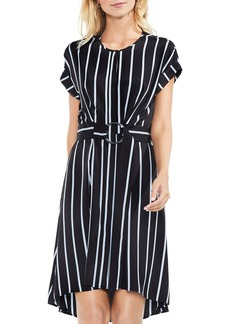 VINCE CAMUTO Theory Striped Dress