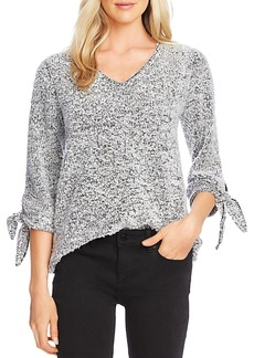 VINCE CAMUTO Boucl� Tie-Cuff Top