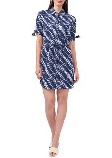 Vince Camuto Tie Dye Shirtdress