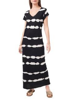 Vince Camuto Tie Dye Stripe Maxi Dress