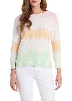 Vince Camuto Tie Dye Stripe Sweater