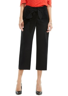 Vince Camuto Tie Front Crop Pants