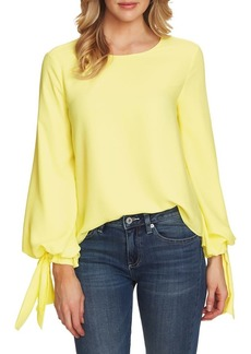 Vince Camuto Tied Balloon-Sleeve Blouse