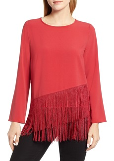 Vince Camuto Tiered Fringe Top