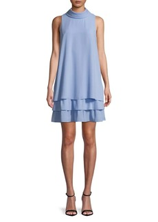 Vince Camuto Tiered Ruffle A-Line Dress