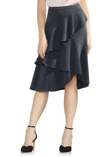 Vince Camuto Tiered Ruffle Skirt
