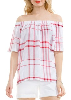 Vince Camuto Timeless Off-the-Shoulder Blouse