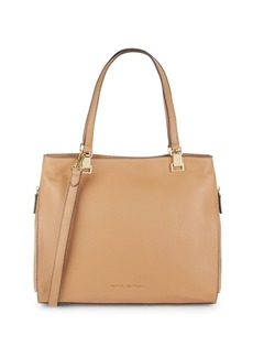 Vince Camuto Top Handle Leather Tote