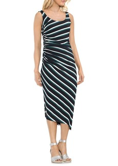 Vince Camuto Topic Heat Striped Sleeveless Bodycon Dress