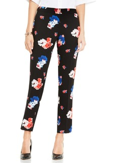 Vince Camuto Traveling Blooms Ankle Pants