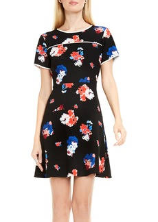 Vince Camuto Traveling Blooms Dress (Regular & Petite)