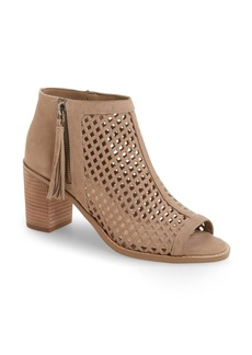 Vince Camuto Tresin Perforated Open-Toe Bootie (Women)