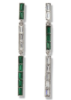 Vince Camuto Triple Linear Drop Earrings