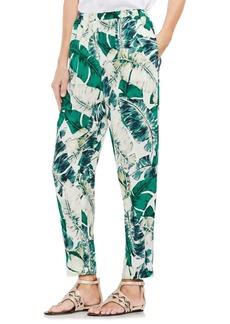 Vince Camuto Tropic Heat Jungle Palm Slim Pants