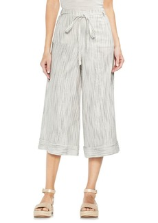 Vince Camuto Tropic Heat Ticking Stripe Wide-Leg Pants