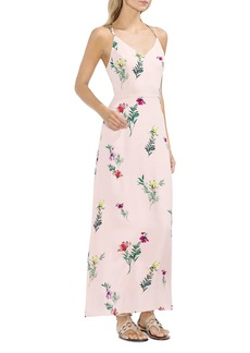 VINCE CAMUTO Tropical Garden Strappy Maxi Dress