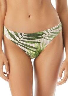Vince Camuto Tropical Palm Printed Classic Bikini Bottoms Women's Swimsuit