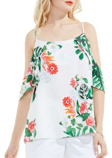 Vince Camuto Tropical Printed Blouse