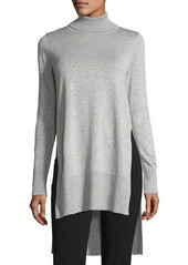 Vince Camuto Turtleneck Metallic Sweater