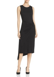 VINCE CAMUTO Twist-Front Asymmetric Midi Dress - 100% Exclusive