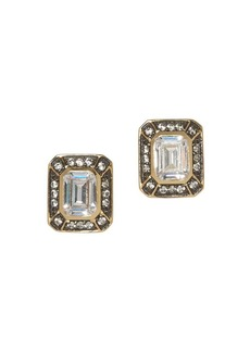 Vince Camuto Two-Tone & Pavé Crystal Earrings