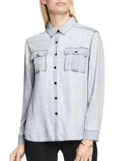 Vince Camuto Utility Long Sleeve Button Down Shirt